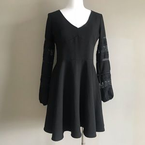 Abercrombie & Fitch Black Dress Medium